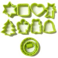 Forme taiat biscuiti Biodora, bioplastic