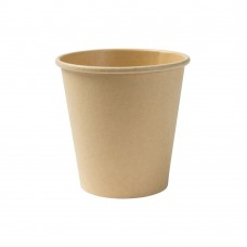 Pahar nealbit, carton cu PLA, 150 ml, set 50 buc