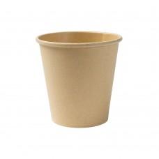 Pahar nealbit, carton cu PLA, 250 ml, set 50 buc