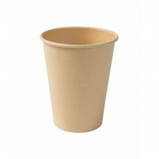 Pahar nealbit, carton cu PLA, 300 ml, set 50 buc