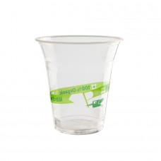 Pahar imprimat smoothie, PLA, 300 ml, set 50 buc