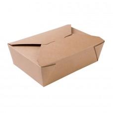 Cutie maro, carton cu ceara, 1500 ml, set 180 buc