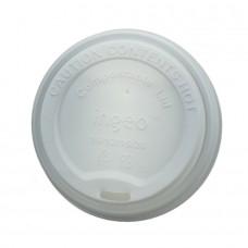 Capac cu deschidere bautura pentru pahare carton 300/400 ml, CPLA, set 50 buc