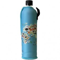 Sticla Dora, husa neopren World, 500 ml