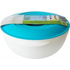 Castron cu capac Biodora, bioplastic, 1 l