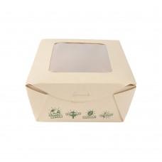 Cutie salata Tree Free, bambus, 12x20x5 cm, set 50 buc