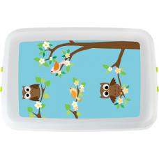 Cutie pranz Biodora, Bufnita, bioplastic, 12x18x5 cm