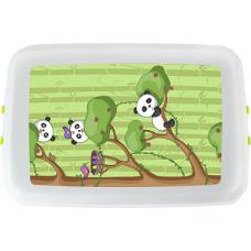 Cutie pranz Biodora, Panda, bioplastic, 12x18x5 cm