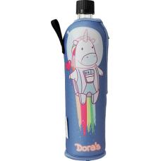 Sticla Dora, husa neopren Unicorn, 500 ml