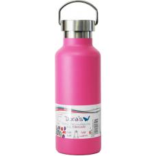 Termos retro Dora, roz, inox, 500 ml
