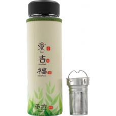 Sticla cu infuzor ceai, husa neopren, 500 ml