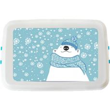 Cutie pranz Biodora, Urs Polar, bioplastic, 12x18x5 cm