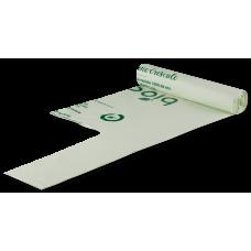 Saci biodegradabili menajeri, PLA, 140 l, rola 5 buc