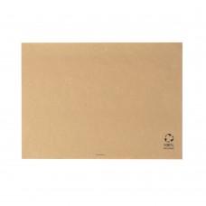 Naproane biodegradabile maro, hartie reciclata, 31x43 cm, set 500 buc