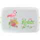 Cutie pranz Biodora, Flamingo, bioplastic, 12x18x5 cm