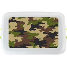 Cutie pranz Biodora, Camuflaj, bioplastic, 12x18x5 cm