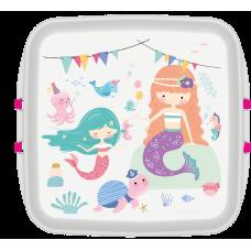 Cutie pranz Biodora, Sirena, bioplastic, 11x11x5 cm