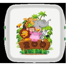Cutie pranz Biodora, Zoo, bioplastic, 11x11x5 cm