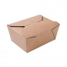 Cutie maro, carton, 1200 ml, set 300 buc