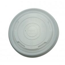 Capac biodegradabil pentru bol 300/400 ml, CPLA, set 50 buc