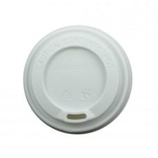 Capac cu deschidere bautura pentru pahare carton 150/200 ml, CPLA, set 50 buc